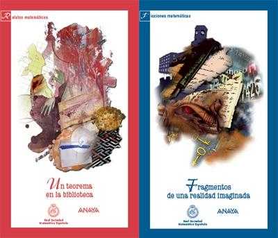 Portadas de los libros de los Concursos Literarios RSME-ANAYA 2007