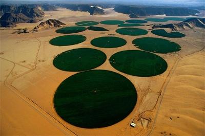 Irrigación Centro-Giratoria en Ma'an (Jordania)