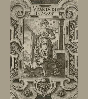 Ilustración de la Musa Urania