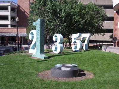 Jardín de las Constantes, en la Ohio State University (EEUU)