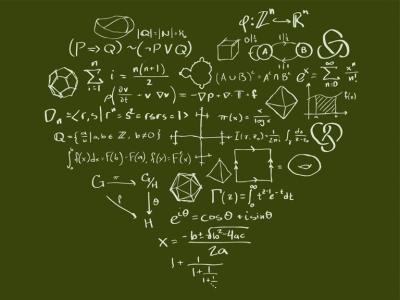 I Heart Math (diseño para una camiseta)
