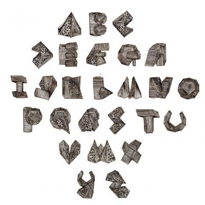 Tipografía geométrica
