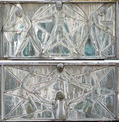 Karlshofbrunnen (Fuente de las Artes)