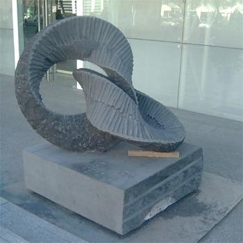 Escultura realizada en el ICM2006