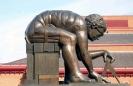 Escultura de Isaac Newton