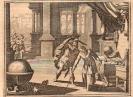 Ilustración sobre la muerte de Arquímedes